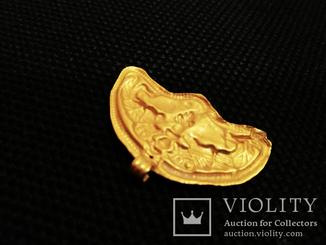 Античная золотая Лунница 2,38 грамма