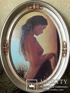 Картина ''Юная красавица''. Копия.