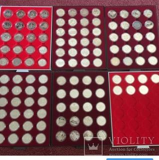 Коллекция монет Украины из не драгоценных металлов 1995-2012 гг.