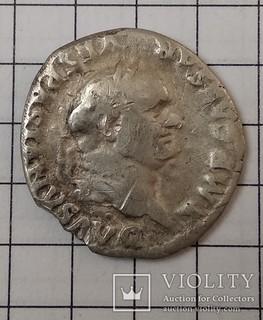 Веспасиан, реверс Кадуцей
