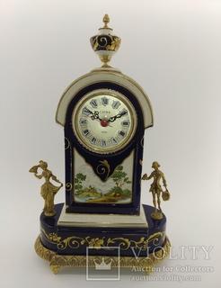 Порцеляновий вінтажний годинник арт. 051