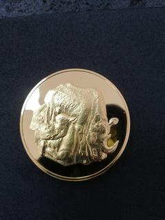 Инвестиционная монета Две унции 64грамм.Черные носороги.