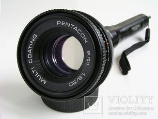 Pentacon 1,8/50,новый с гарантией 2 года,Германия.