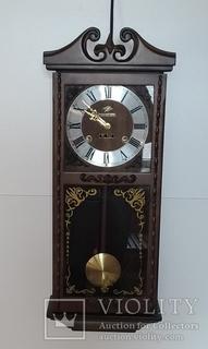 Настінний вінтажний механічний годинник арт. 030