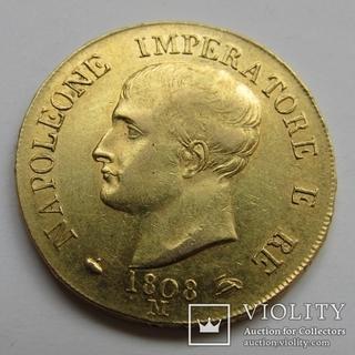 40 лир 1808 г. Наполеон I
