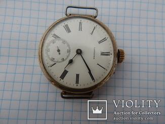 Часы Longines , старая переделка с карманных в наручные