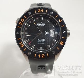 Edox Class 1 Titanium GMT Automatic