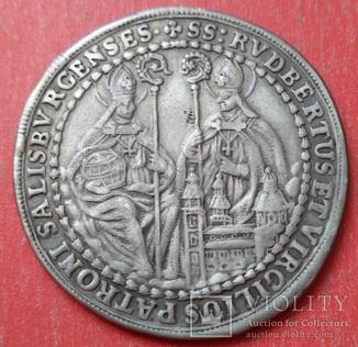 1/2 Талера 1694 год. Зальцбург, XF
