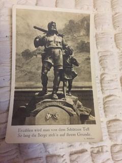 Открытка немецкая 1932 год