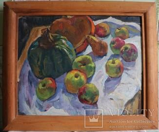 """Віра Владиславлева (1919–2008), """"Натюрморт із гарбузами"""". Київська школа"""