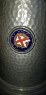 Кружка с парохода ''Монтола''