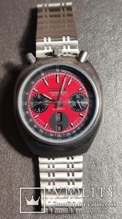 Часы  хронограф Citizen bullhead,avtomatic,japan