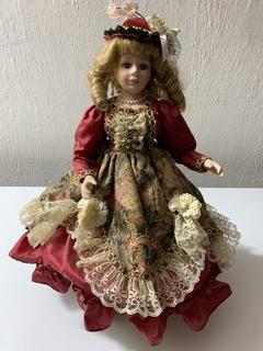 Фарфоровая кукла Victorian Dolls Kate (клеймо)