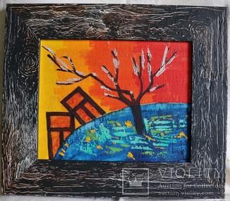"""Вудон Баклицький (1942–1992), """"Композиція"""". Київська школа. Неофіційне мистецтво"""