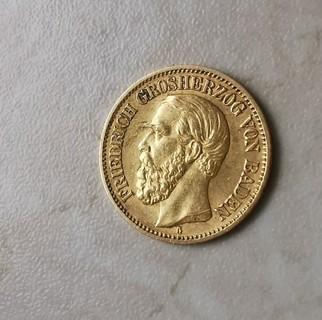 10 марок Баден 1901