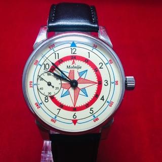 Часы молния 15  ЧК-6 камней Роза Ветров марьяж
