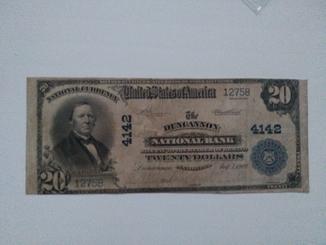 20 долларов 1909