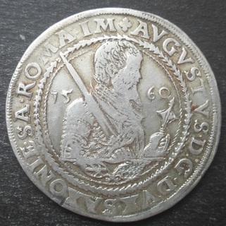 1 Талер 1560 год Саксония-Альбертин, Август