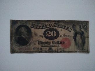 20 долларов 1880