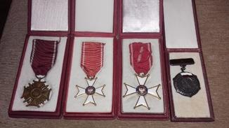 Польські нагороди. 4шт.