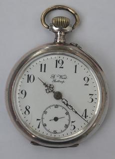 Часы карманные серебро 800проба