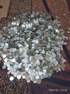 Монеты СССР 11.300 кг. Сюрприз из дачи.