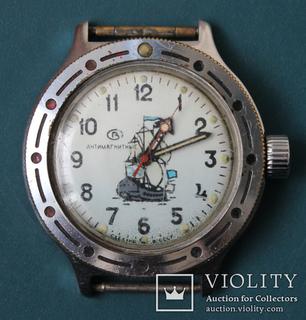 """Часы """"Восток Амфибия"""",водонепроницаемые 200 м,противоударные"""