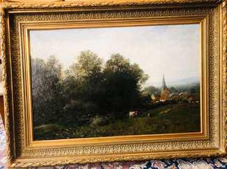 Andre Jules (1807-1869), місто Kirchdorf.
