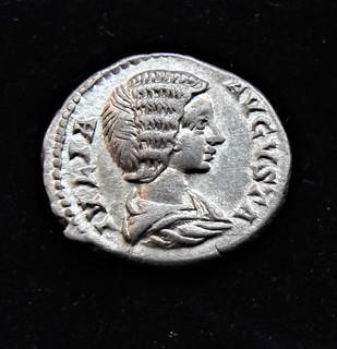 Юлия Домна (Августа) 218 год серебро 3.52 г
