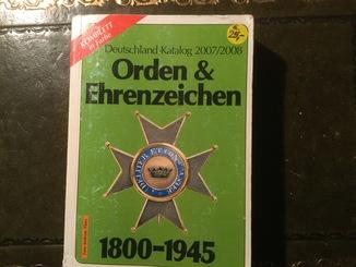 Каталог орденов 1800 1945 года. Германия.