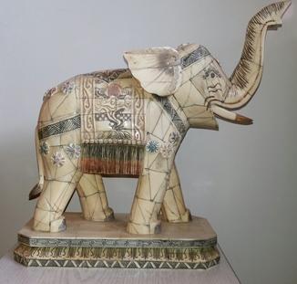 Слон, слоновая кость Индия