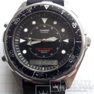 Часы Casio 100 м.