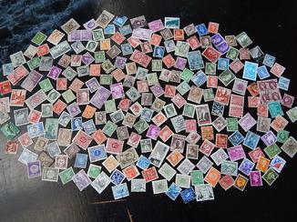 Старинные почтовые марки 226 шт. Есть колонии и  Третий Рейх.
