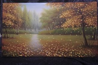 Картина «Осень» Сергей Стоев