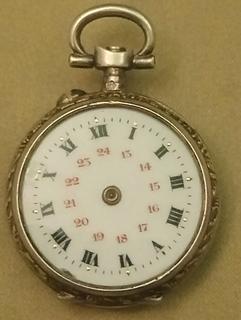 Годинник старіниї корпус серебро