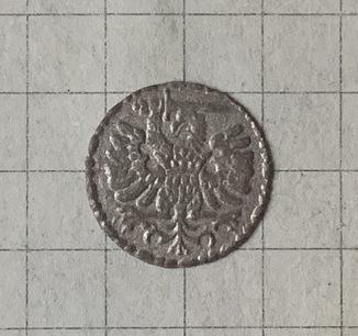 Гданський денарій Стефана Баторія 1585 року
