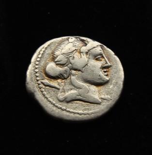 Либер - Бог Виноделия и Свободы аверс/реверс 78 г до н.э.