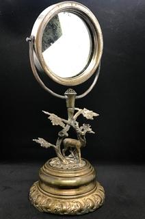 Зеркало настольное старинное