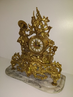Настільний вінтажний годинник арт. 025
