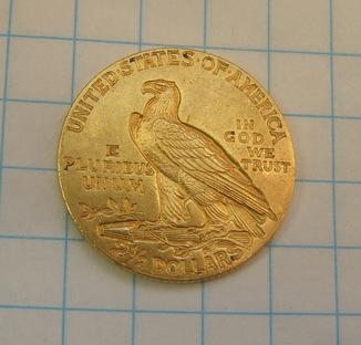 2.5 долара 1911 р.