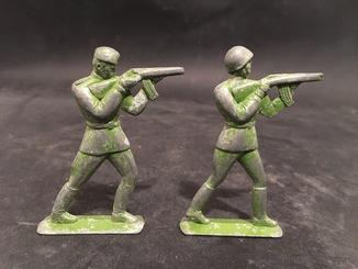 Большие оловянные солдатики СССР Редкость !