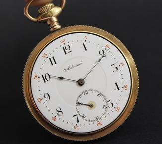 Часы карманные Admiral 1904 г.  Швейцария