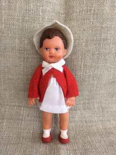 Мини куколка немецкая номерная в упаковке новая