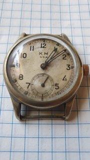 Старые Швейцарские часы К.М  ALPINA 592