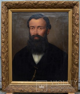 Картина подписная, портрет, холст, масло, Размер картины 60 х 49 см.