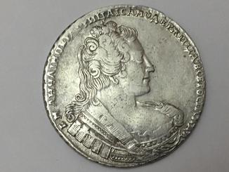 Рубль 1733 Анна Иоановна