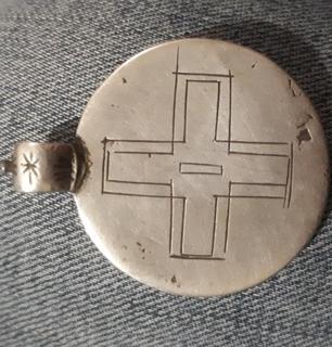 Серебряний медальйон під видом Павла І