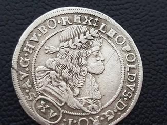 15 крейцерів 1687 року Леопольда (NB)