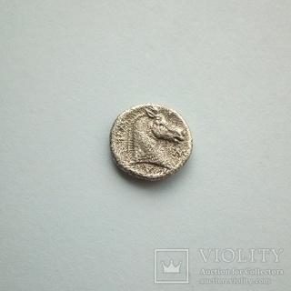Обол (серебро) Фессалия, г.Фарсала, 4 в.до н.э.