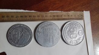 3 наст медали города мелитополя периуда ссср